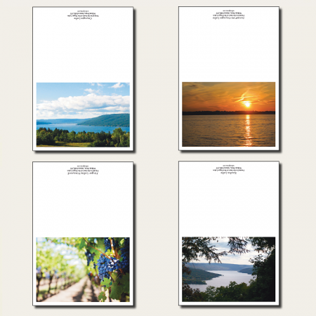Finger Lakes Greeting Cards - 8 Pack